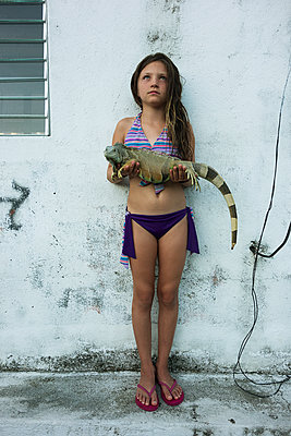 Iguana - p1636m2216351 by Raina Anderson