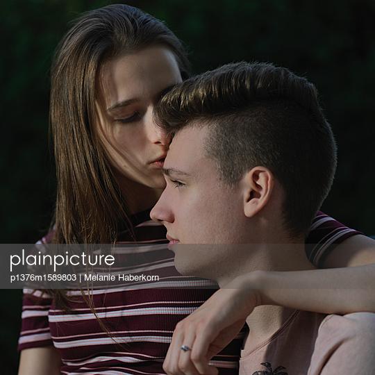 Verliebtes Päärchen - p1376m1589803 von Melanie Haberkorn
