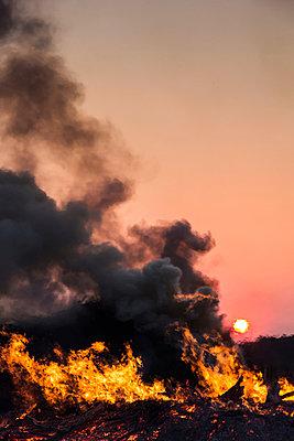 Qualmendes Feuer I - p739m900746 von Baertels