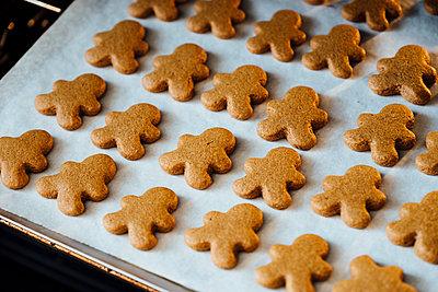 Weihnachtsbäckerei - p1262m1198405 von Maryanne Gobble