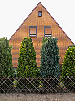 Hausfassade - p0390363 von Christine Höfelmeyer