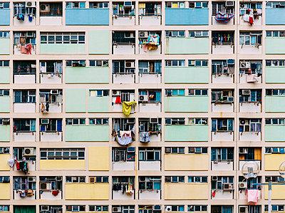 China, Hong Kong, Kowloon, oldest public housing estates - p300m2059982 by Gemma Ferrando