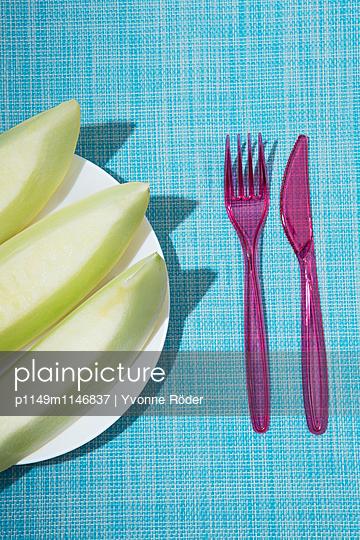 Honigmelone - p1149m1146837 von Yvonne Röder