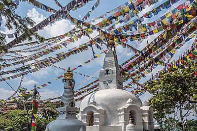 Tempelanlage Swayambhunath - p1243m1525628 von Archer