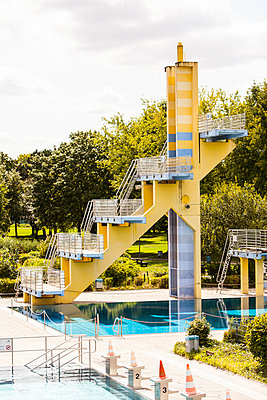 Diving tower - p280m1137357 by victor s. brigola