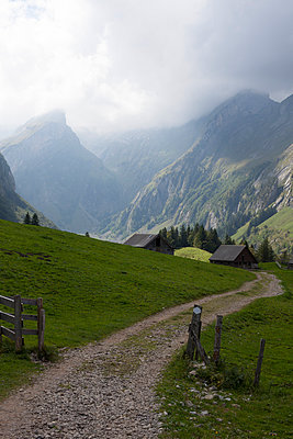 Mountain scenery Appenzell - p304m1050987 by R. Wolf