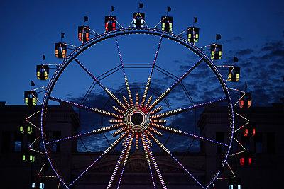 Ferris wheel - p450m2211069 by Hanka Steidle