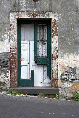 Broken doorway in Madeira, Portugal. - p8552380 by Richard Bryant