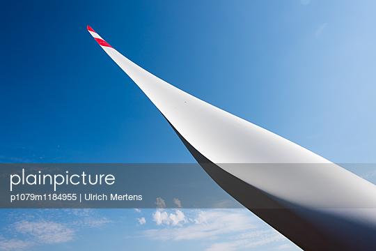 Flügelblatt am Himmel - p1079m1184955 von Ulrich Mertens