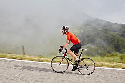 Rennrad fahren - p1294m1513036 von Sabine Bungert