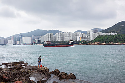 Near Ma Wan Village, Hong Kong - p1558m2132790 by Luca Casonato