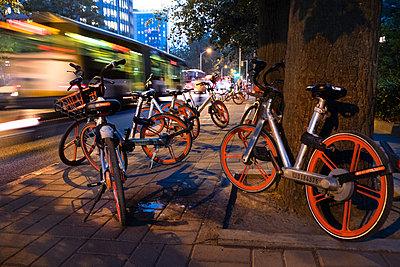 China, Beijing, City traffic - p1653m2259826 by Vladimir Proshin