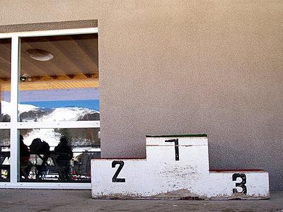 Sports podium - p813m901978 by B.Jaubert