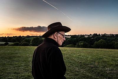 Ageing Cowboy - p1291m2045752 by Marcus Bastel