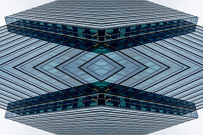 Abstract Architecture Kaleidoscope Boston - p401m2216021 by Frank Baquet
