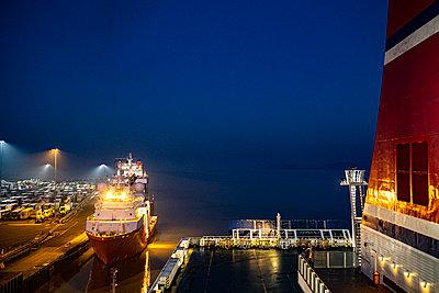 Hafen von Harwich - p280m2156171 von victor s. brigola