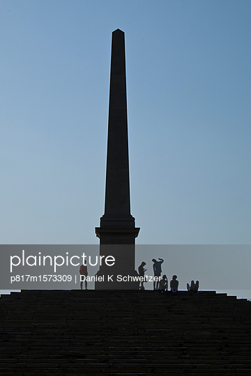 Coronation Park, Queen Victoria - p817m1573309 von Daniel K Schweitzer
