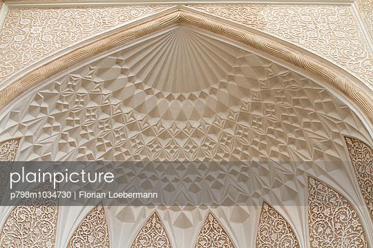 Deckengewölbe in Yazd, Iran - p798m1034730 von Florian Loebermann