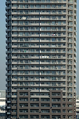 Detail of tower block - p3882017 by L.B.Jeffries