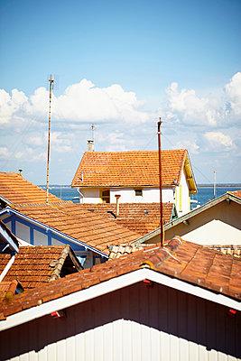 Rote Dächer - p464m1020157 von Elektrons 08