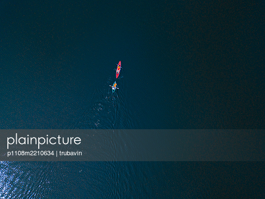 Russia, Canoeists - p1108m2210634 by trubavin