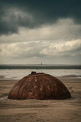 Rosses Point Trümmer  - p470m1190624 von Ingrid Michel
