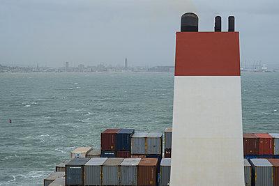 Container ship - p930m2148416 by Ignatio Bravo