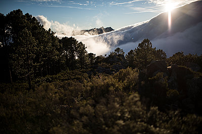 Clouds in the mountain - p1007m1540384 by Tilby Vattard