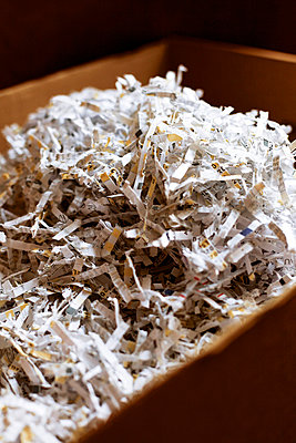 Shredded documents - p728m729068 by Peter Nitsch