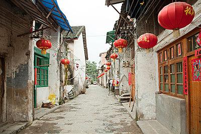 China, guangxi province, xingping street - p9244865f by Image Source