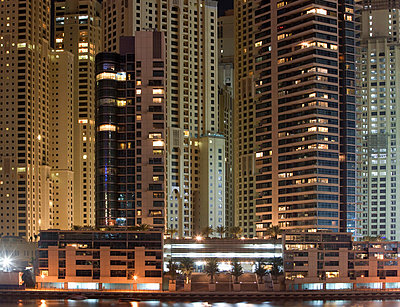 Skyscrapers in Dubai, UAE - p3018167f by Stephan Zirwes