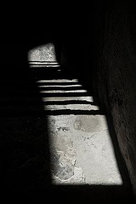 Cellar stairs and sunlight - p1170m1111625 by Bjanka Kadic