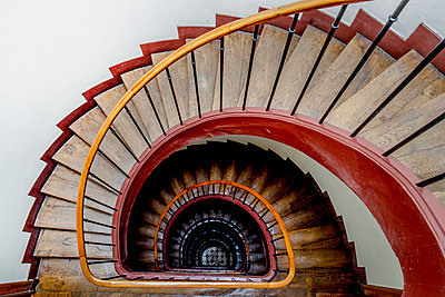 Stairwell - p445m1153183 by Marie Docher