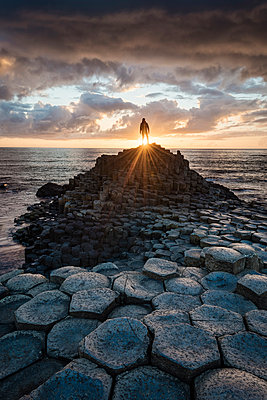 The Giant's Causeway, County Antrim, Ulster region, Northern Ireland, United Kingdom. - p651m2006441 by Marco Bottigelli