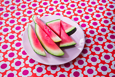 Watermelon - p1149m2089564 by Yvonne Röder