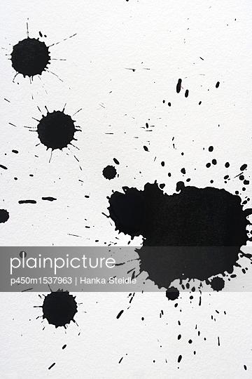 Tintenkleckse   - p450m1537963 von Hanka Steidle
