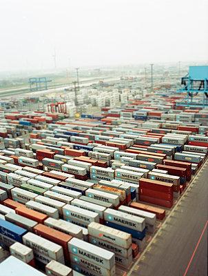 Containerterminal - p1197m995506 von Stefan Bungert