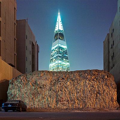 Al Faisaliyah Center, Wolkenkratzer, Riad, Saudi-Arabien - p1542m2173268 von Roger Grasas