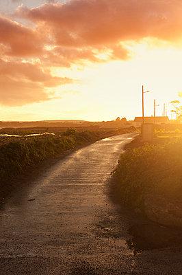 Abendstimmung in Irland - p470m1152791 von Ingrid Michel