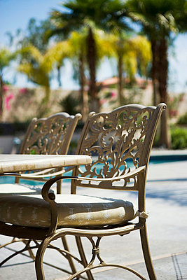Wrought Iron Patio Furniture - p5550198f by LOOK Photography