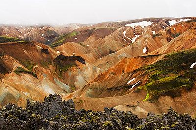 Landmannalaugar, Iceland - p1084m1036823 by GUSK
