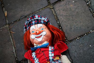 Smiling clown - p450m1515425 by Hanka Steidle