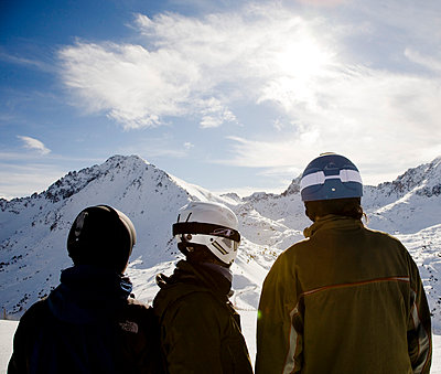 Watching the landscape at Grandvalira - p5340289 by Susanna Ferran Vila