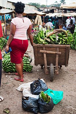 Africa, Uganda, Kampala, Market - p1167m2283491 by Maria Schiffer