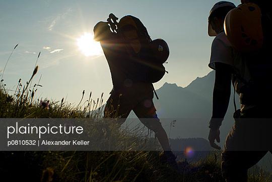 Zusammen wandern - p0810532 von Alexander Keller