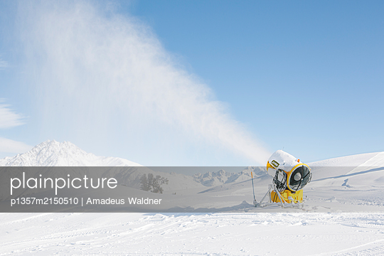 Schneekanone  - p1357m2150510 von Amadeus Waldner