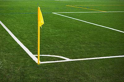 Fußballplatz - p1149m995690 von Yvonne Röder