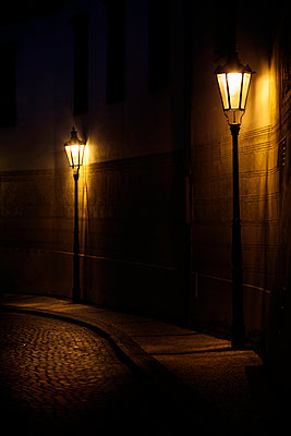 Cobbled Street - p1280m1515077 by Dave Wall