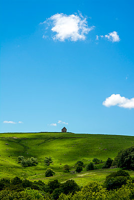 Isolated farm in France - p813m1159511 by B.Jaubert