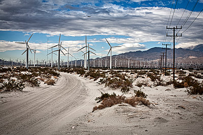 windmills - p1553m2133378 by matthieu grospiron